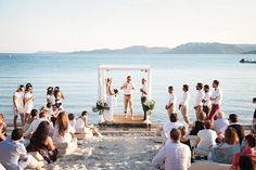Civil Marriage // Cérémonie laique sur la plage