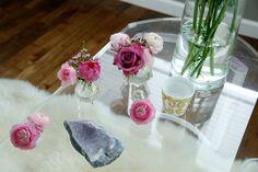 Holi, Glass Vase, Table Decorations, Home Decor, Holi Celebration, Interior Design, Home Interior Design, Dinner Table Decorations, Home Decoration