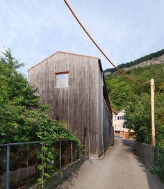 Atelier Zumthor, Haldenstein, Graubünden, Switzerland, 1986 | Peter Zumthor