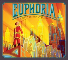 Euphoria Build a Better Dystopia Board Game Stonemaier Games for sale online Board Game Box, Board Game Geek, Games Box, Card Games, Game Prices, Building Games, All That Matters, Allegiant, Strategy Games