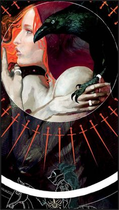 """Leliana Tarot Cards from """"Dragon Age : Inquisition"""""""