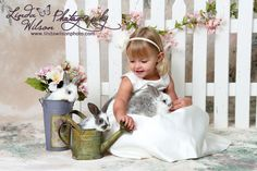 easter session with bunny | Easter Mini Session with Live Bunnies!