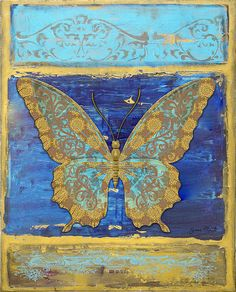 I uploaded new artwork to fineartamerica.com! - 'Fanciful Yellow Butterfly' - http://fineartamerica.com/featured/fanciful-yellow-butterfly-jean-plout.html via @fineartamerica
