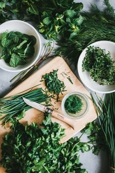 Back to Basics: Storing Fresh Herbs