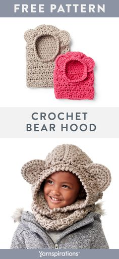 24 ideas crochet kids hats patterns for 2019 Crochet Kids Hats, Free Crochet, Crochet Gifts, Beginner Crochet Scarf, Kids Crochet Hats Free Pattern, Crochet Stitches, Crochet Patterns, Knitting Patterns, Baby Patterns