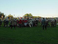 Battaglia di Mantova, Late XIV secolo.        Battle of Mantova, Late XIV CEntury