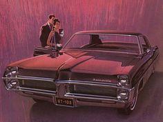 Ein Pontiac im Abendrot