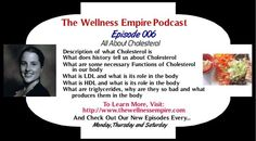 Have you listened to my podcast episode (Podcast Episode 006 - All About Cholesterol) yet? If not, please subscribe at https://itunes.apple.com/au/podcast/the-wellness-empire/id819317774?mt=2 or listen via my site...