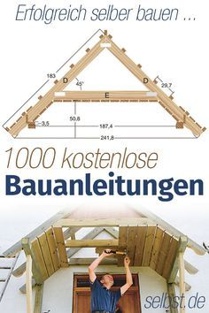 Here is how it works: For each DIY project, the appropriate construction manual? On … - Diy home decoration Cheap Home Decor, Diy Home Decor, Pergola Diy, Diy Casa, Design Case, Planer, Home Remodeling, Wood Projects, Diy Furniture