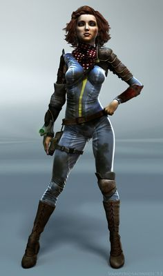 Fallout 3: Evie Fox by Vampyric-Saiyaness.deviantart.com on @DeviantArt