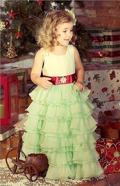 Join us in Instagram @capellibambini Eva нарядное платье для девочки - салатовое платье, зеленое платье, нарядное платье capelli bambini