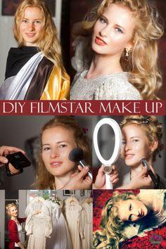 #alvanaturkosmetik Alva Naturkosmetik - DIY Filmstar Make up - Make up Schablone Cinderalice #konturierenundhighlighten #sculptingmakeup