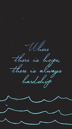 """""""Onde há esperança, há provas"""""""