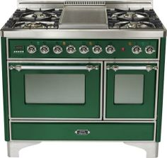 40-inch Emerald Green with chrome trim