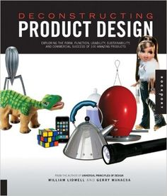 Deconstructing Product Design, by William Lidwell and Gerry Manacsa 658.5752 L715d