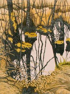 Jan Dingle - Artist - Norfolk Broads - Etchings by annabelle Artwork Prints, Painting Prints, Lino Prints, Abstract Landscape, Landscape Paintings, Norfolk Broads, Etching Prints, Wood Engraving, Les Oeuvres