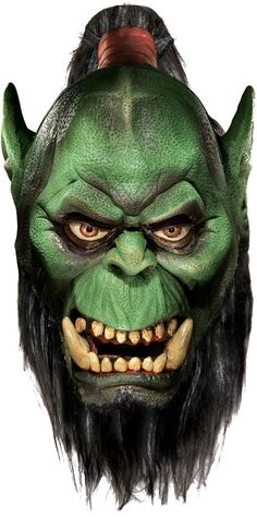 costume mask: world of warcraft - orc