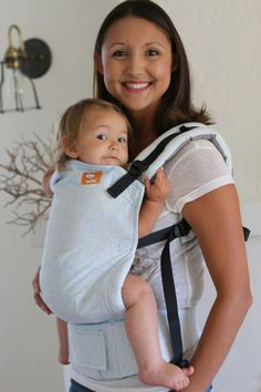 Oscha Roses Joshua (Blue out)  TULA BABY CARRIER