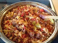 Susan Recipe: Unstuffed Cabbage Rolls