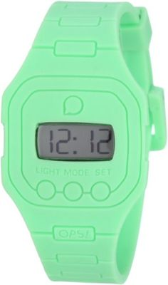 OPS Unisex OPSFW16 Flat Digital Watch *** You can find more details by visiting the image link.Note:It is affiliate link to Amazon.