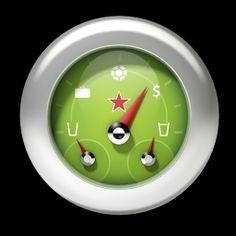 Modelagem de medidor com ponteiros em 3D. Cliente: BIG (Londres). Projeto: Apresentação Heineken.