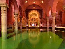 Baños árabes en Andalucía