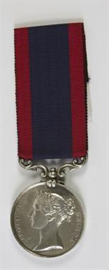 Lot 491: Sutlej Medal for Ferozeshuhur, 1845. Estimate £300 - £400. Sale date 18th June 2014 www.afbrock.co.uk