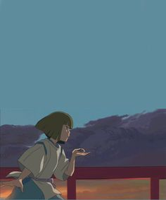 ghibli gif | anime studio ghibli spirited away ghibli haku animated GIF