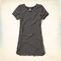 Girls Striped T-Shirt Dress | Girls New Arrivals | HollisterCo.com
