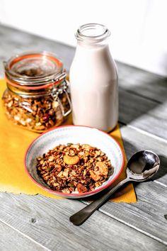 Vegan, Gluten Free Chocolate Granola  | My Fatme