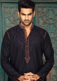 Black Color Complete Shalwar Suit