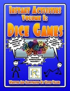 Instant Activities Volume 1: Dice Games