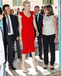 Princess Charlene of Monaco presented CHPG nursing diplomas