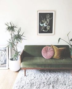 Inspiration : Unknown : No Credit - Botanical | Biophilia | Plants | Interiors | Interior Design | Living Space | Nature | Natural | Environment | Home | Colour | Texture | Print | Floral | Pattern | Decor | Velvet | Accessories | Rug | Cosy | Wall Art | Picture Frames | Plant Pots