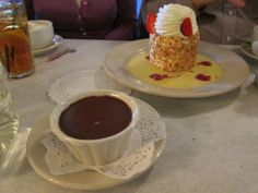 Pots de Creme au Chocolat Dessert at 39 Rue de Jean  39 John Street, Charleston, SC   www.eatkingstreet.com