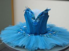 "Classical tutu costume for Bluebird character from ""The Sleeping Beauty"""