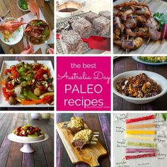 Get our wrap up of The Best Australia Day Paleo Recipes! Including paleo Pavlova, paleo lamingtons and delicious BBQ lamb and seafood!
