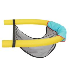 Polyester Floating Pool Noodle Sling Mesh Chair Net For Swimming Pool party Kids Bed Seat Water Relaxation Swimming Pool Noodles, Portable Swimming Pools, Swimming Pool Toys, Floating Chair, Floating In Water, Piscina Diy, Pool Party Kids, Pool Fun, Pool Lounge Chairs