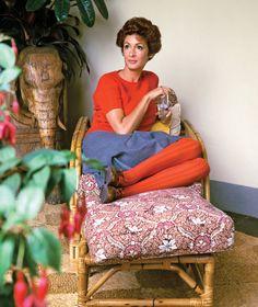 Marella Agnelli at home in Italy, 1967.  Photo: Horst P. Horst/Corbis