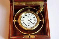 WWI ELGIN Ships Marine Chronometer Deck Watch FREESPRUNG Grade 367 Class 90 | eBay