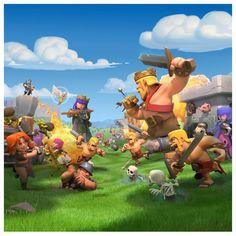 Clash of Clans Free Gems Generator Clash Of Clans Cheat, Clash Of Clans Hack, Clash Of Clans Free, Clash On, App Background, Gaming Banner, Splash Screen, Free Gems, Mobile Wallpaper