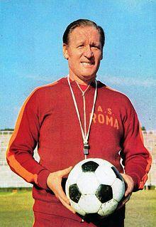 Nils Liedholm AS Roma 1973