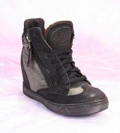 Black / Olive Nubuck Sneakers / Boots 20% OFF- Code PINTEREST20