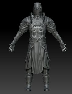 Templar With Helm