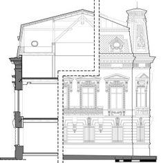 Casa Filipescu-Cesianu | Arhitectura 1906 Belle Epoque, Old Houses, Floor Plans, Restaurant, Houses, Old Homes, Diner Restaurant, Old Mansions, Restaurants