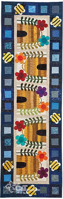 Kim Schaefer's Calendar Runners by C Publishing, via Flickr Table Runner And Placemats, Quilted Table Runners, Small Quilts, Mini Quilts, Paper Piecing, Quilting Projects, Sewing Projects, Skinny Quilts, Quilted Table Toppers