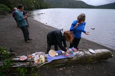 Enjoy a yummy lunch kiwi-style on the Northern Portion hiking trip