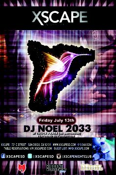 Friday the 13th Party @ Xscape Nightclub (Gaslamp) - Friday, July 13th w/DJ Noel 2033