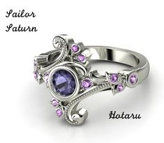 Sailor Saturn-Engagement Ring by butterflycutie77 on deviantART