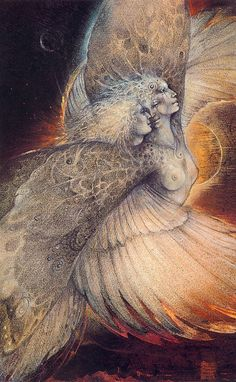 """I dare you to use your wings"" / Art bySusan Seddon Boulet"